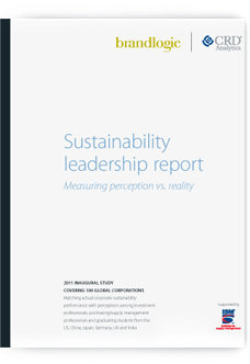 Sustainability leadership report cover